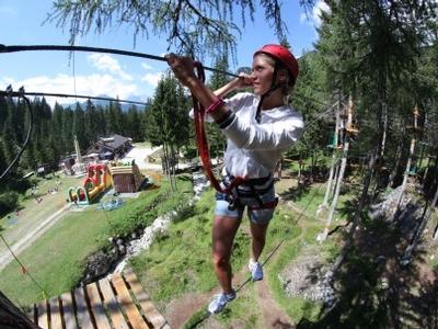 Zip Line Und Adventure Park Die Offizielle Webseite Des Tourismus In Den Dolomiten